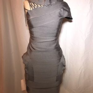 CELEB CITY BANDAGE DRESS
